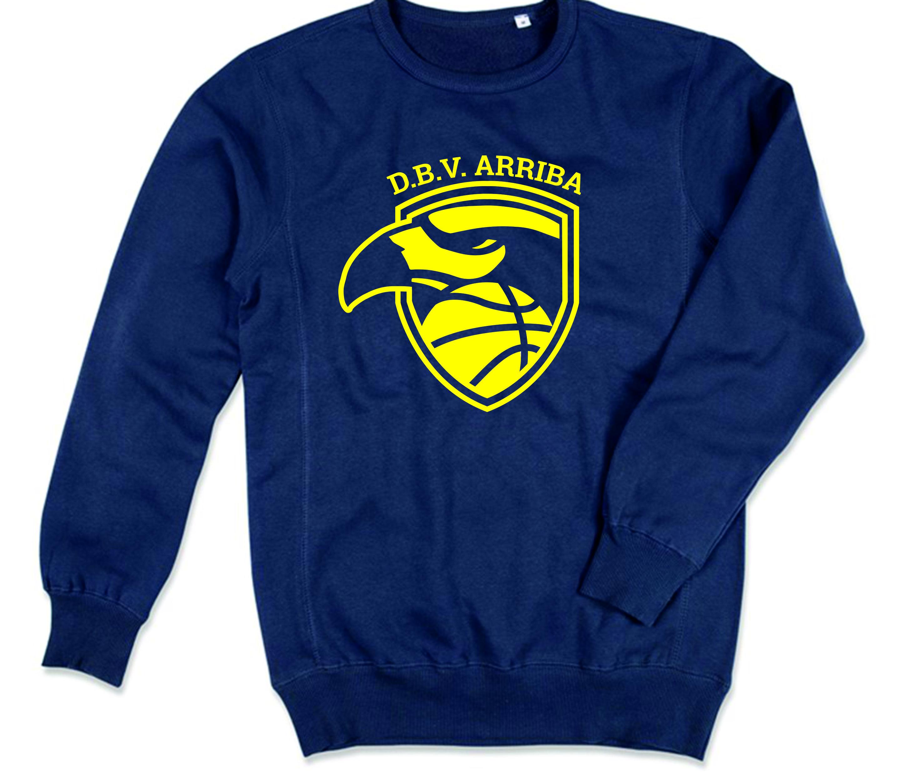 Blue sweater (big logo) Image