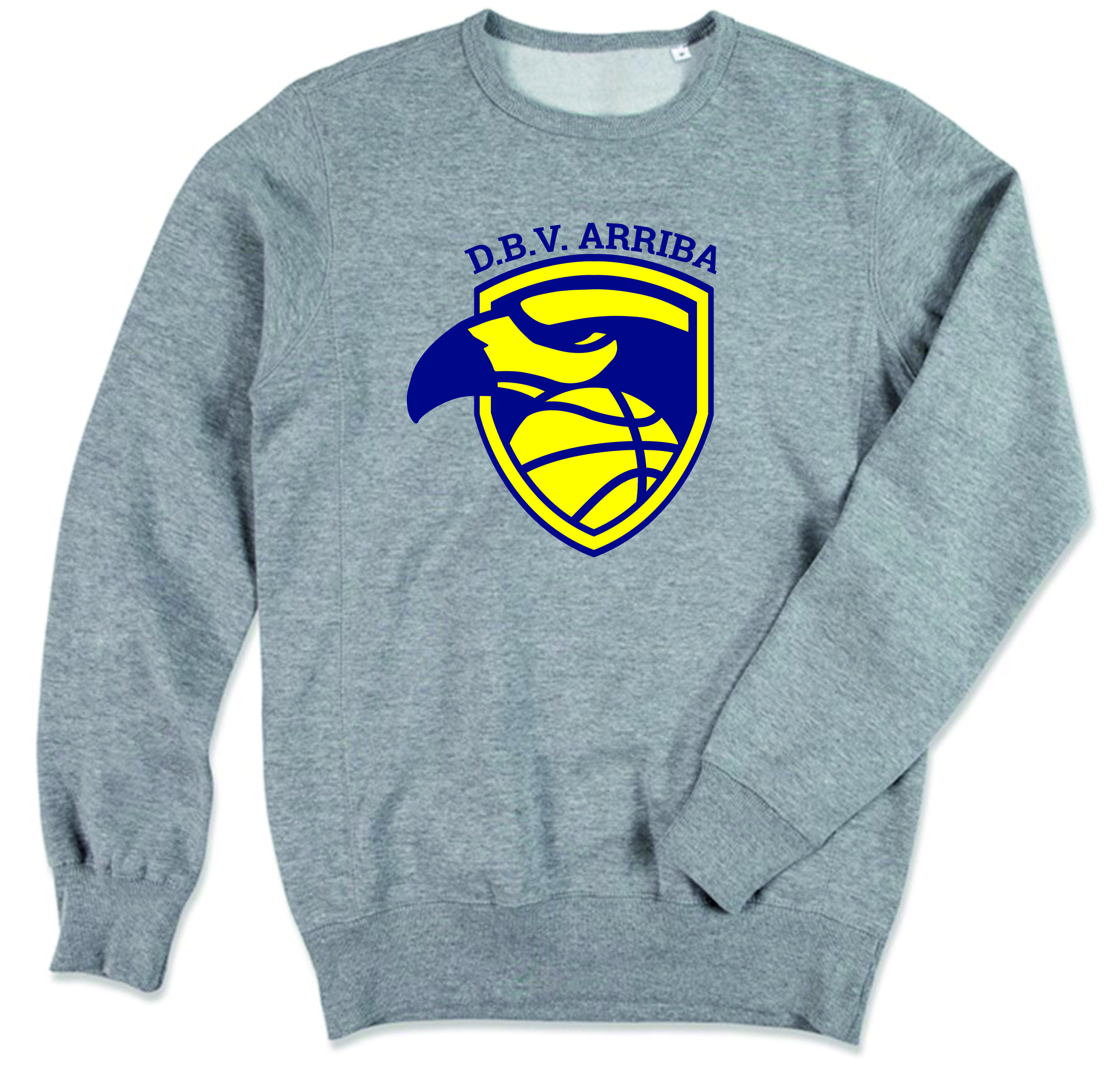 Grey sweater (big logo) Image